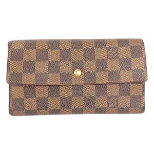 ルイヴィトン 長財布(三つ折り) ダミエ ポルトフォイユインターナショナル N61217