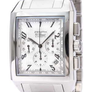 Zenith Port-Royal Automatic Stainless Steel Men's Sports Watch 03.0550.400