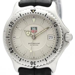 Tag Heuer Sel Quartz Stainless Steel Men's Dress Watch WI1210