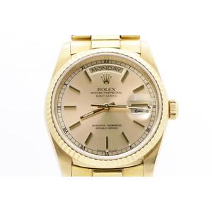 ロレックス(Rolex) デイデイト 18238 自動巻き イエローゴールド(YG) 腕時計