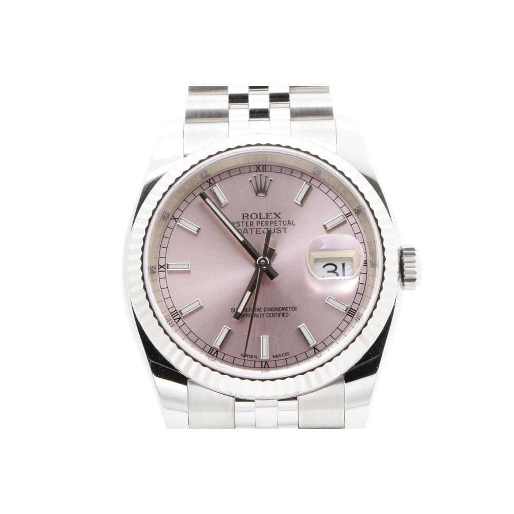 cheap for discount 86ec4 965eb ロレックス(Rolex) デイトジャスト 自動巻き K18ホワイトゴールド(K18WG) メンズ ドレスウォッチ | elady.com