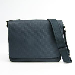 ルイ・ヴィトン (Louis Vuitton) ディストリクトPM コスモス N41285 メンズ ダミエアンフィニ ショルダーバッグ ネイビー