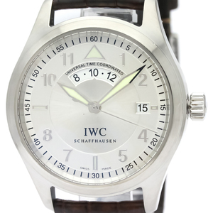 IWC Pilots Spitfire UTC Steel Automatic Mens Watch IW325107