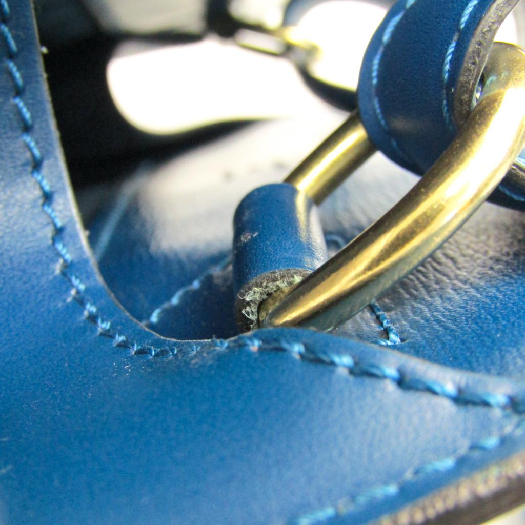 ルイ・ヴィトン (Louis Vuitton) エピ クリュニー M52255 レディース エピレザー ショルダーバッグ トレドブルー