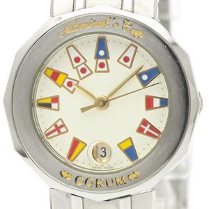 CORUM Admirals Cup Steel Quartz Ladies Watch 39.610.20