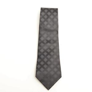 ルイ・ヴィトン (Louis Vuitton) メンズ ネクタイ シルク ロゴ ブラック