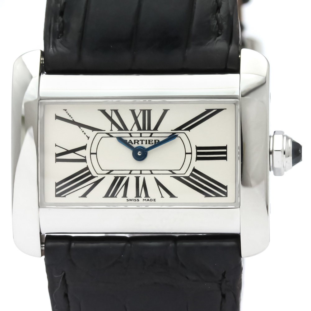 Cartier Tank Divan Quartz Stainless Steel Women's Dress Watch W6300255