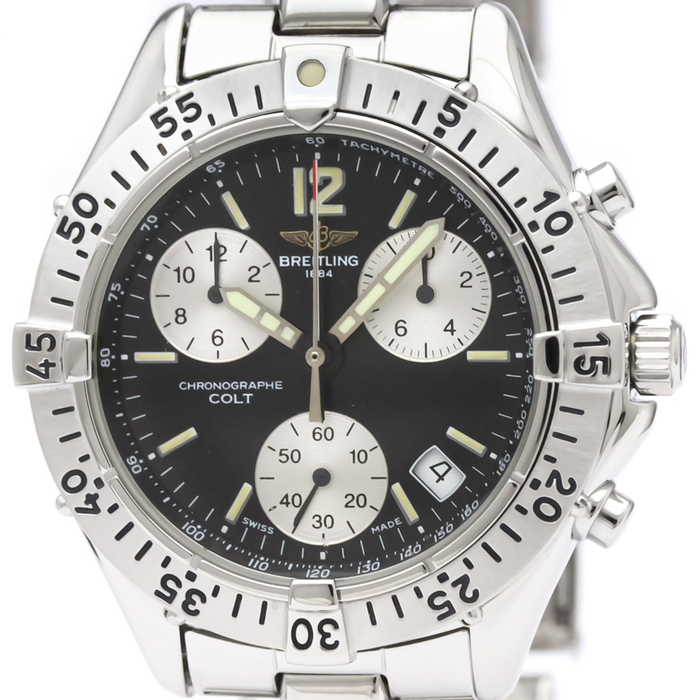 Breitling Colt Quartz Stainless Steel Men's Sports Watch A53035