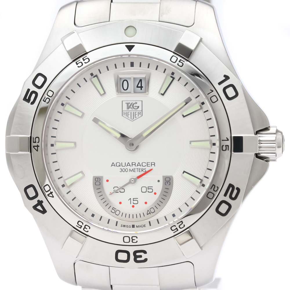 Tag Heuer Aquaracer Quartz Stainless Steel Men's Sports Watch WAF1011