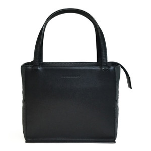 Burberry Box type Handbag Black/Gray