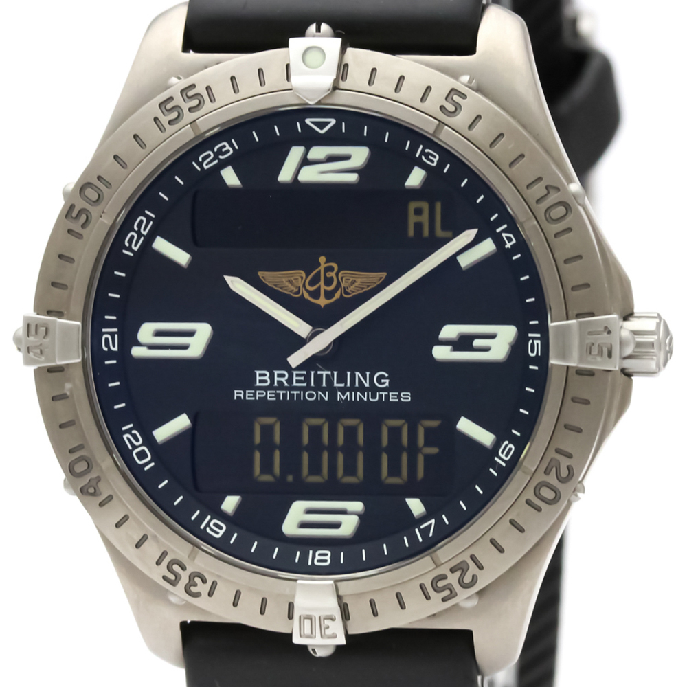 Breitling Aerospace Quartz Titanium Men's Sports Watch E65362