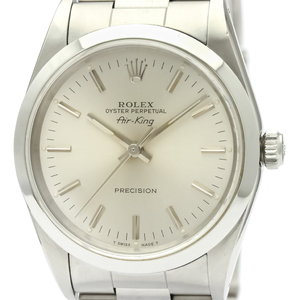 Rolex Airking Automatic Stainless Steel Men's Dress Watch 14000