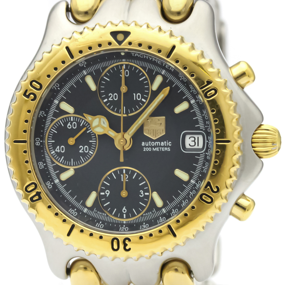 Tag Heuer Sel Automatic Gold Plated,Stainless Steel Men's Sports Watch CG2121