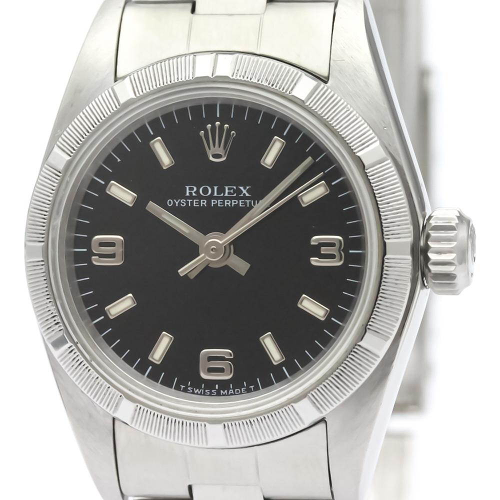 ロレックス(Rolex) オイスター・パーペチュアル 自動巻き ステンレススチール(SS) レディース ドレスウォッチ 67230