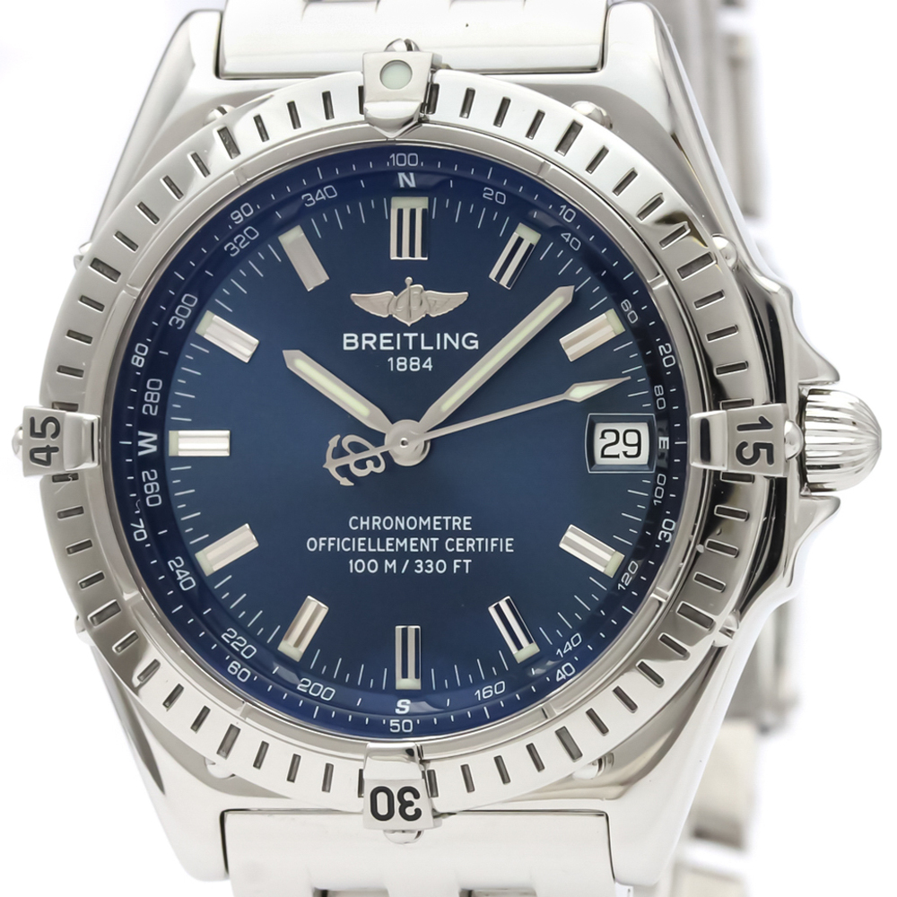 Breitling Wings Automatic Stainless Steel Men's Sports Watch A10350