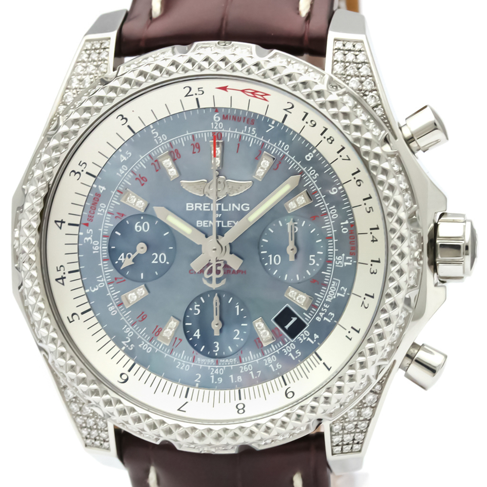 Breitling Bentley Automatic Stainless Steel Men's Sports Watch AB0612