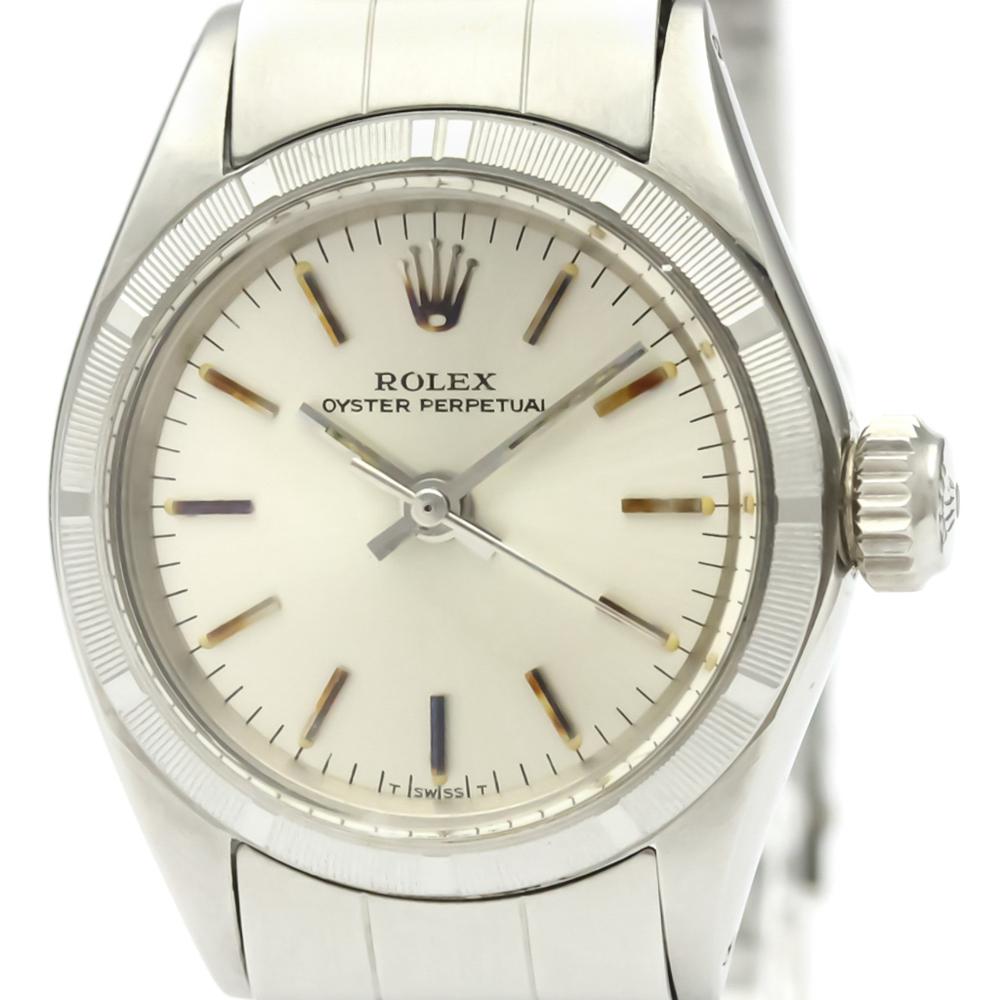 promo code 085b2 1616e 【ROLEX】ロレックス オイスター パーペチュアル 6623 ステンレススチール 自動巻き レディース 時計 | eLady.com