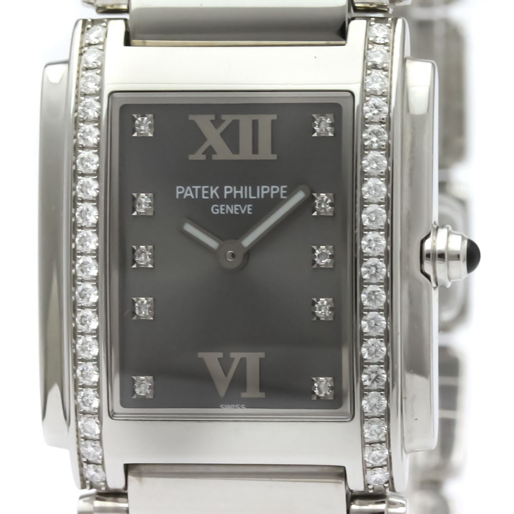 Patek Philippe Quartz Stainless Steel Women's Dress Watch 4910/10A-001