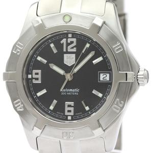 【TAG HEUER 】タグホイヤー 2000 エクスクルーシブ  ステンレススチール 自動巻き メンズ 時計  WN2111