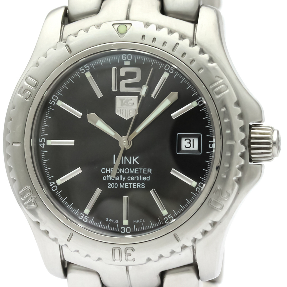 Tag Heuer Link Automatic Stainless Steel Men's Sports Watch WT5110