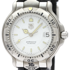 Tag Heuer 6000 Series Quartz Stainless Steel Men's Sports Watch WH1211