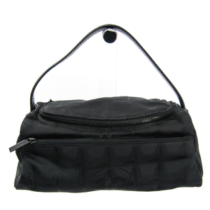 シャネル(Chanel) ニュートラベルライン A15829 レディース レザー,ナイロン バニティバッグ ブラック