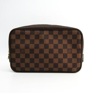 ルイ・ヴィトン(Louis Vuitton) ダミエ トゥルース・トワレット N47623 レディース ポーチ エベヌ
