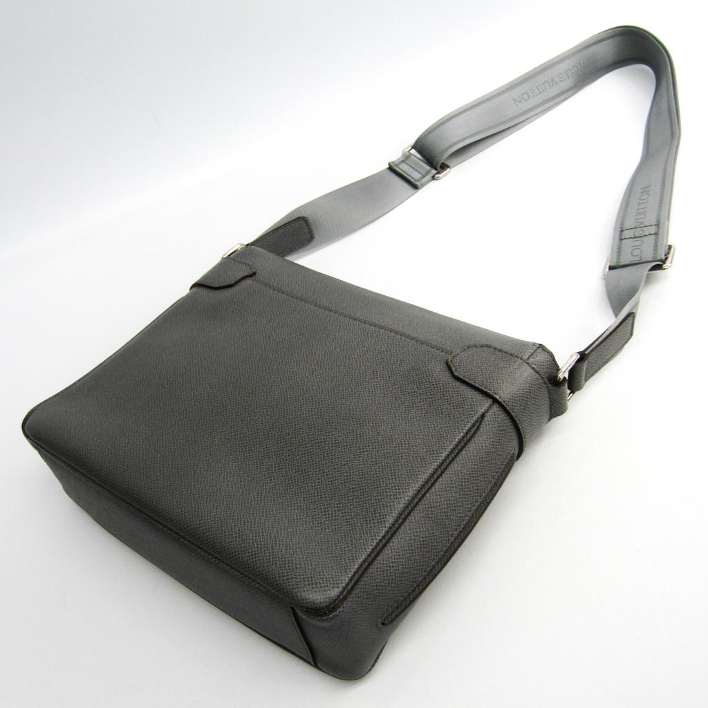 ルイ・ヴィトン (Louis Vuitton) タイガ ロマンPM M32700 メンズ タイガ ショルダーバッグ グラシエ