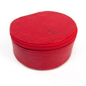 Louis Vuitton Epi Ecrin Bijoux 10 M48217 Jewelry Case Castilian Red Epi Leather