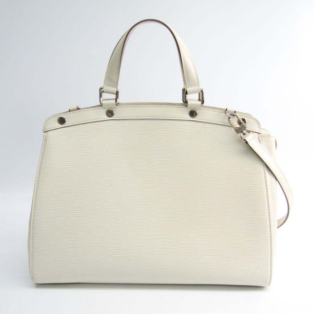 Durchsuchen Sie die neuesten Kollektionen sehr bequem Online-Verkauf Details zu Louis Vuitton Epi Brea GM M40334 Handtasche LV Ivory BF341648