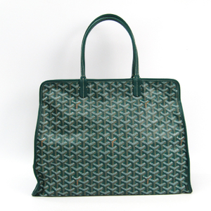 Goyard Le Chic Du Chien Hardy PM Leather,Canvas Tote Bag
