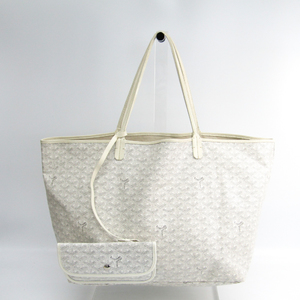 Goyard Saint Louis Saint Louis GM Tote Bag White