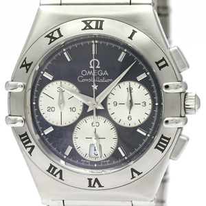 OMEGA Constellation Chronograph Steel Quartz Mens Watch 1542.40