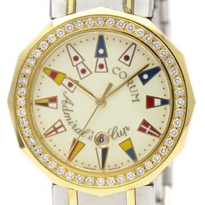 Corum Admiral's Cup Quartz Stainless Steel,Yellow Gold (18K) Men's Dress Watch 39.812.28