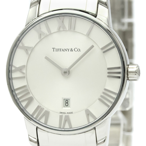 Tiffany Atlas Quartz Stainless Steel Women's Dress Watch Z1830.11.10A21A00A