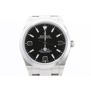 ロレックス(Rolex) エクスプローラーI 自動巻き ステンレススチール(SS) メンズ 腕時計 214270