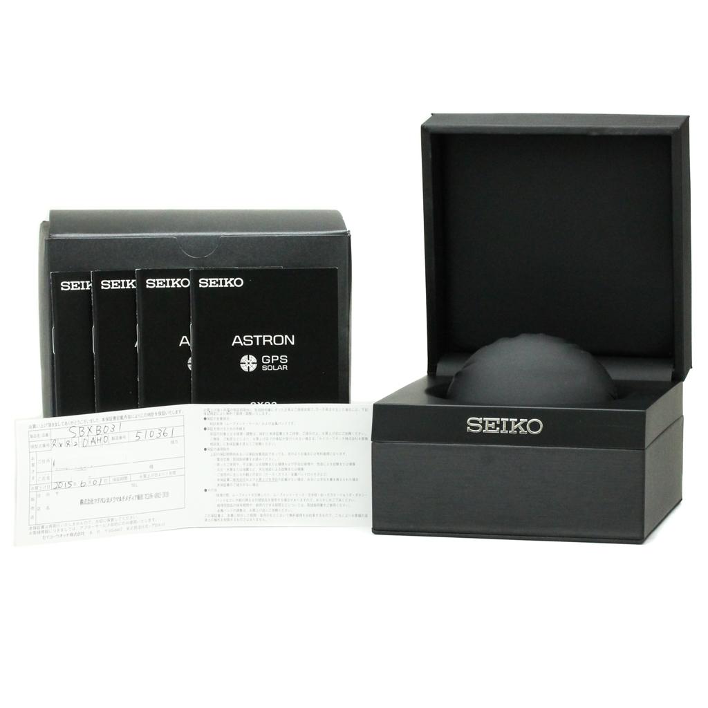 セイコー (Seiko) アストロン ソーラー セラミック,ステンレススチール(SS) メンズ スポーツウォッチ SBXB031(8X82-0AH0)