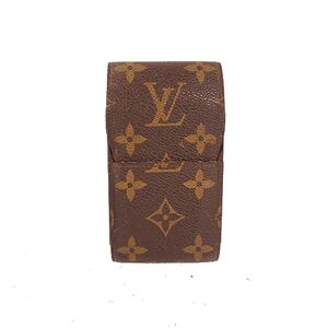Auth Louis Vuitton Cigarette Case Monogram Eteyui cigarette M63024