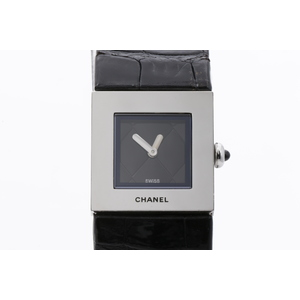Chanel Matelasse Quartz Stainless Steel Women's Dress Watch
