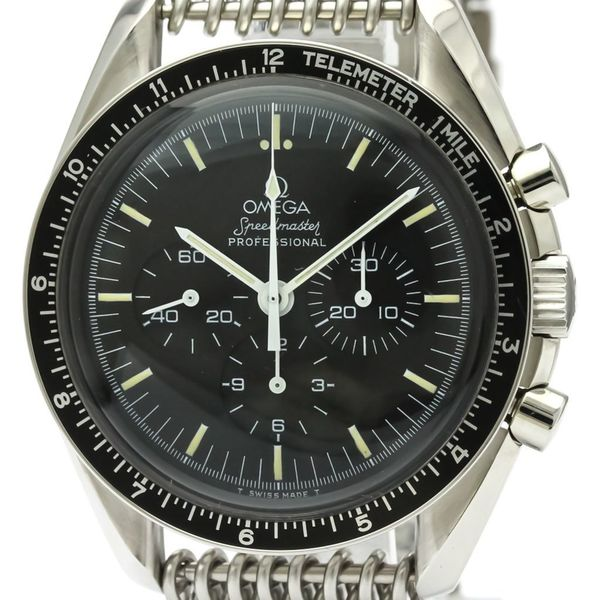 Omega Speedmaster Mechanical Stainless Steel Men's Sports Watch 145.022