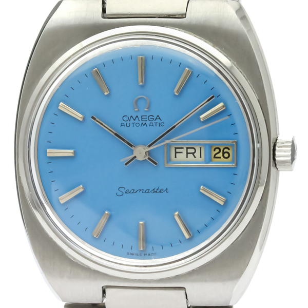 Omega Seamaster Automatic Stainless Steel Men's Dress Watch 166.0216