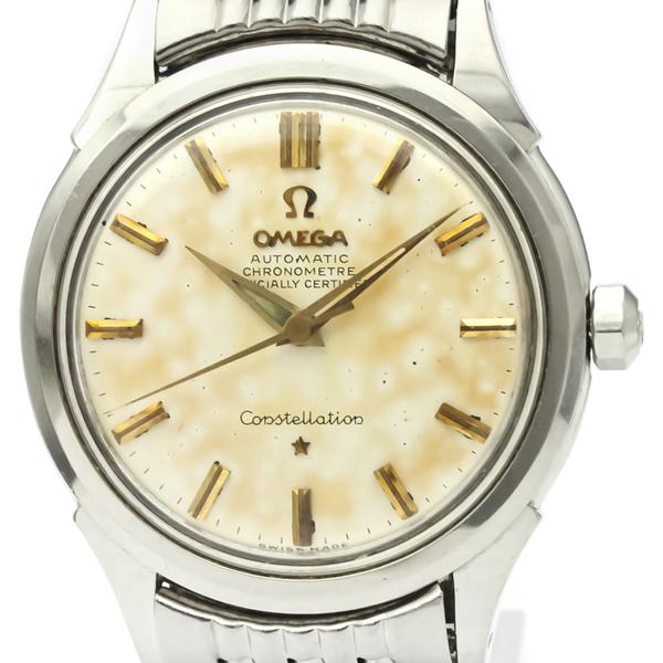 オメガ(Omega) コンステレーション 自動巻き ステンレススチール(SS) メンズ ドレスウォッチ 2852