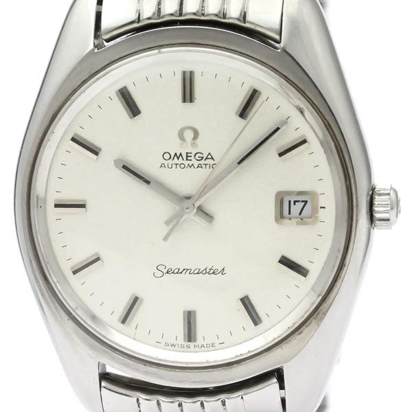 【OMEGA】オメガ シーマスター デイト ステンレススチール 自動巻き メンズ 時計 166.067