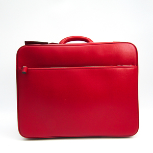 Valextra Soft Case Duffle Bag Red Avietta 48