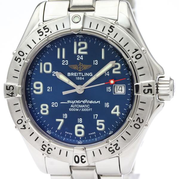 【BREITLING】ブライトリング スーパーオーシャン ステンレススチール 自動巻き メンズ 時計 A17340