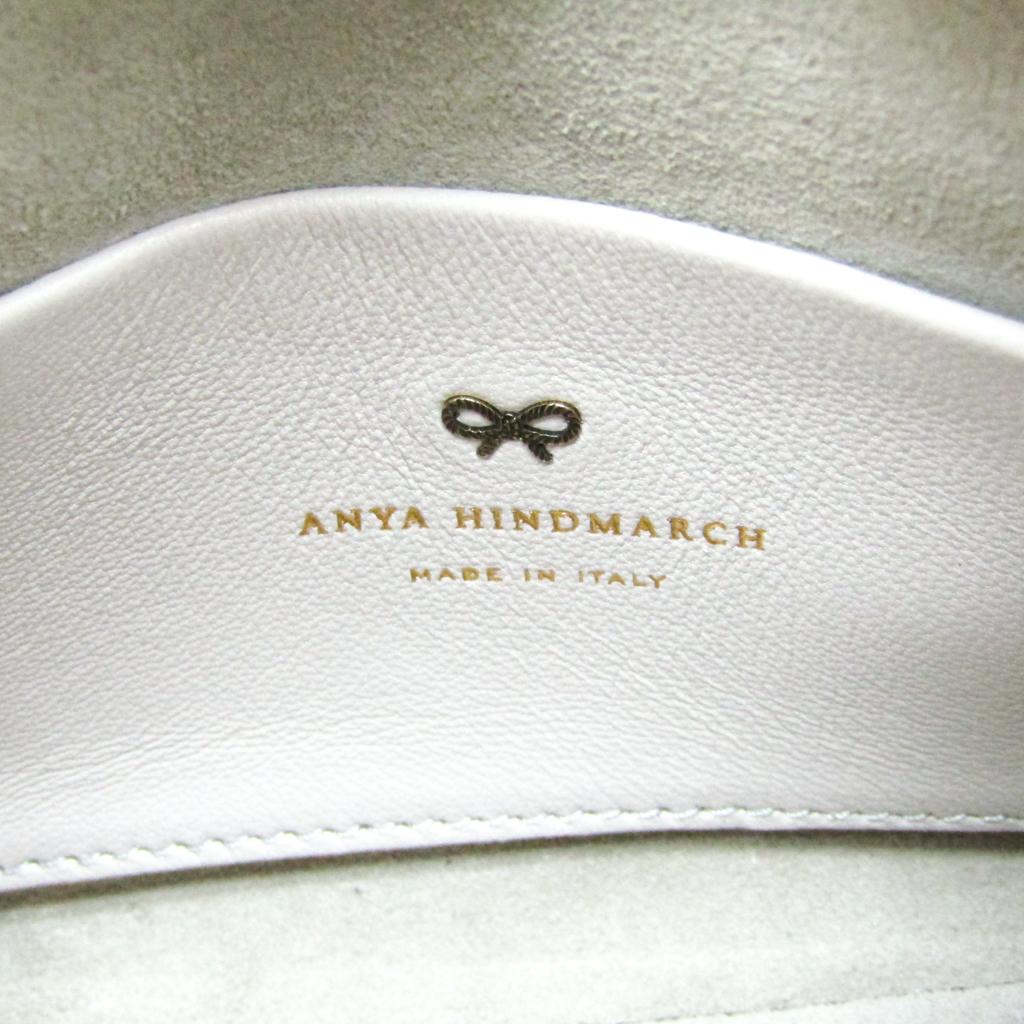 アニヤ・ハインドマーチ(Anya Hindmarch) Mini Vere Flip Barrel Bag 948852 レディース レザー ハンドバッグ メタリックピンク