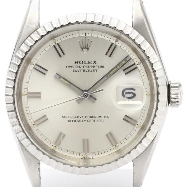 ロレックス(Rolex) デイトジャスト 自動巻き ステンレススチール(SS) メンズ ドレスウォッチ 1603