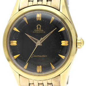 Omega Seamaster Automatic Gold Plated Men's Dress Watch 2802
