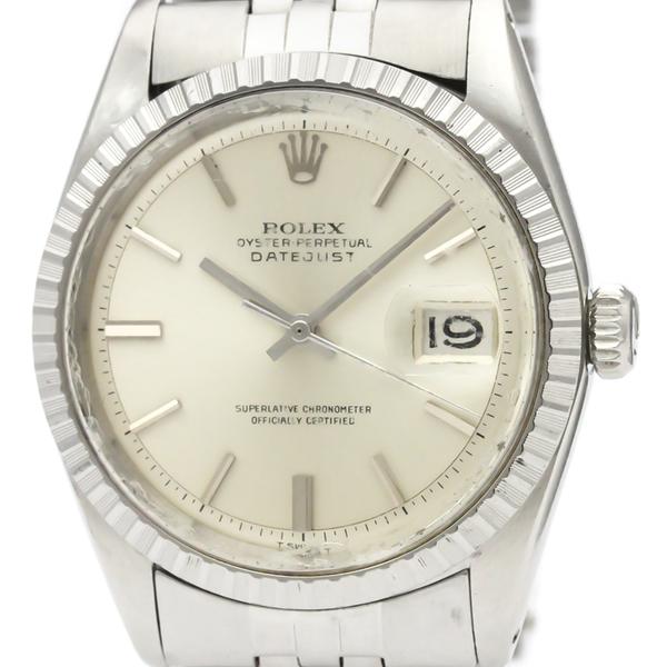 【ROLEX】ロレックス デイトジャスト 1603 ステンレススチール 自動巻き メンズ 時計
