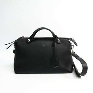 Fendi By The Way 8BL124 Leather Handbag Black